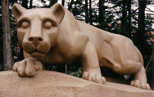 The Nittany Lion Statue