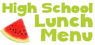 HS lunch menu